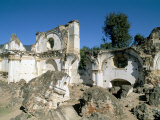 Ruins of the Church of La Recoleccion  Destroyed by Earthquake in 1715  Antigua  Guatemala
