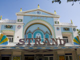Movie Theater Converted into Shop  Duval Street  Key West  Florida  USA