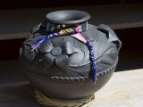 Black Pottery Typical of Oaxaca  Mexico  North America
