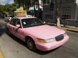 Pink Taxis  Duval Street  Key West  Florida  USA
