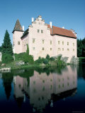 Cervena Lhota Chateau  Near Jindrichuv Hradec  Bohemia  Czech Republic