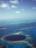 Blue Hole  Lighthouse Reef  Belize  Central America