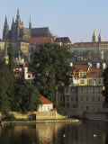 St Vitus Cathedral and Castle  Prague  Czech Republic