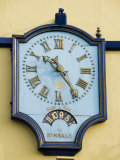 Famous Clock on the Blue Haven Hotel  Kinsale  County Cork  Munster  Republic of Ireland