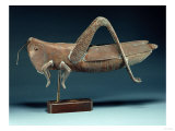 A Grasshopper Weathervane  19th Century