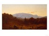 Twilight on Hunter Mountain  1867