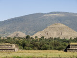 Pyramid of the Sun  Teotihuacan  150Ad to 600Ad and Later Used by the Aztecs  North of Mexico City
