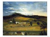 An American Farm  American School (19th Century)