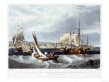 View of New York Quarantine  Staten Island  1833