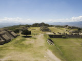 The Ancient Zapotec City of Monte Alban  Unesco World Heritage Site  Near Oaxaca City  Mexico