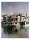 Venice  the Grand Canal  1890