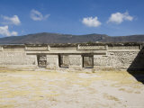 Fantastic Geometric Carving  Mitla  Ancient Mixtec Site  Oaxaca  Mexico  North America