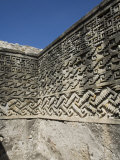 Fantastic Geometric Carving  Palace of the Columns  Mitla  Ancient Mixtec Site  Oaxaca  Mexico