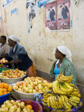 The African Market in the Old City of Praia on the Plateau  Praia  Santiago  Cape Verde Islands