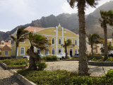 Beautifully Restored Municipal Colonial Building  Ribiera Grande  Cape Verde Islands