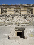 Entrance to Tomb  Palace of the Columns  Mitla  Ancient Mixtec Site  Oaxaca  Mexico  North America