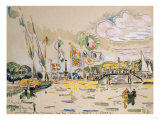 Geneva Geneve Paul Signac (1863-1935)