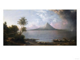 Omotepe Volcano  Nicaragua  1867