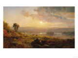 Autumn Sunset  1876