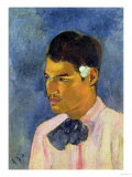 Young Man with a Flower  1891