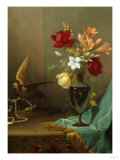 A Vase of Mixed Flowers  1865-1875