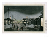 Night View  Nihonbashi  1880
