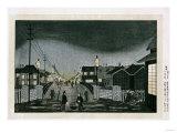 Night View  Nihonbashi  1880