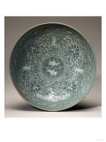 An Inlaid Celadon Bowl  Koryo Dynasty  13th Century