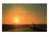 Peasants Returning from the Fields at Sunset