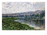The Seine and the Hills of Chantemsle  1880