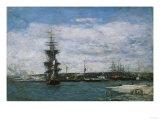 Le Port Du Havre  Circa 1864-1866