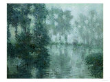 Mist on the River in Winter  1919