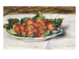 Still Life with Strawberries  Painted Circa 1880