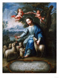 The Good Shepherd  El Buen Pastor  1765