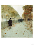 Quai Du Louvre  1889