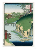 River of Waterfalls  Oji'  from the Series 'One Hundred Views of Famous Places in Edo'