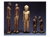 A Group of Lobi Figures