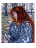 Woman Reading  1899