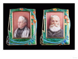 Two Rare Liberty Silver Gilt and Enamel Picture Frames  1907 & 1906