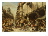 The Market Place  1862