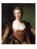 Portrait of Theodore Elisabeth  Catherine De Besenval  Marquise De Broglie  1742