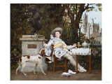 A Repast in the Park  1873