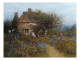 A Cottage Near Brook  Witley  Surrey Helen Allingham 1848-1926
