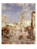 Figures in a Moorish Town
