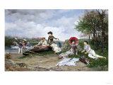 The Picnic  1880