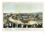 Peytona and Fashion in Their Great Match for $20 000 after C Severin  Circa 1845