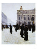 Outside the Opera  Paris  1879