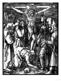 The Crucifixion  from the Small Passion  Woodcut  Circa 1509-11