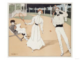 The Tennis Game  1902