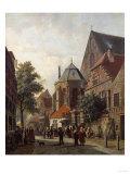 A Dutch Street Scene  1867